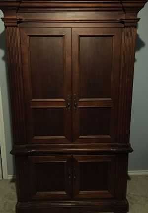 Cherry wood Armoire for Sale in Seagoville, TX
