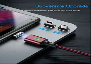 3 in 1 Magnetic USB charger cable with 3 head plug for Type-C, iPhone and Micro USB for Sale in Silver Spring, MD