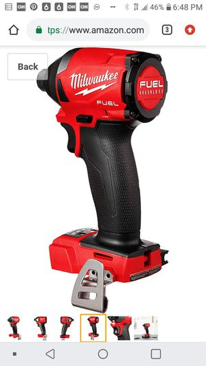 Milwaukee( one key ) impact drill ( ( tool only for Sale in San Jose, CA