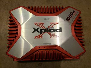 Sony Xplod 1000W Amp for Sale in Grove City, OH