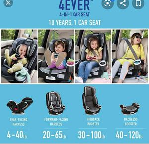 Graco 4 ever car seat for Sale in Sunrise, FL