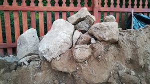 Free Rocks and Landfill dirt. You haul away- message if interested for Sale in Bel Air, MD