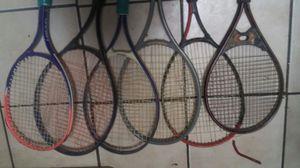 12 tennis rackets for Sale in Tempe, AZ