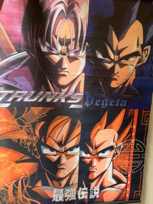 Dragon ball z cloth poster for Sale in Buena Park, CA