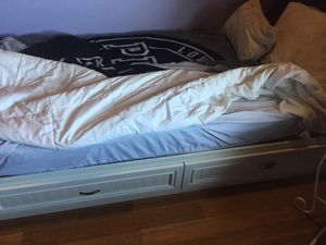 Twin size bed frame for Sale in Erie, PA
