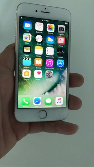 IPhone 6 16gb Factory Unlocked WorldWide Clean imei No ICloud for Sale in Miami, FL