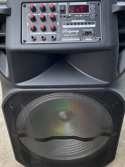 "15""WOOFER-5800 WATTS/Bluetooth-Fm radio (DELIVERY SERVICE AVAILABLE) ( MICROPHONE & CONTROL FOR KARAOKE ! ) (MICRÓFONO Y CONTROL INCLUIDO) ( for Sale in Baldwin Park,  CA"
