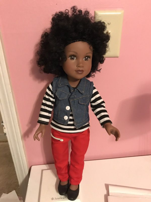 Ag Doll Stand and Journey Doll