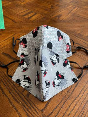 Minnie Mouse Kids (8-10yrs old) cloth face masks for Sale in North Las Vegas, NV