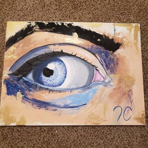 Blue eye painting for Sale in Nicholasville, KY