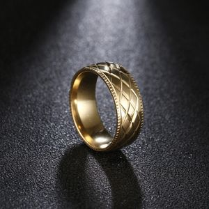 UNISEX 18K Gold plated Carving Engagement/Wedding Ring for Sale in Dallas, TX
