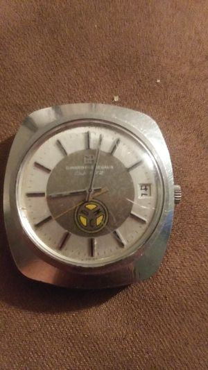Girard perregaux 1968 to 1978 10 year service watch from danuser machine co for Sale in Fulton, MO