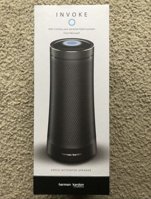 New harman kardon Invoke Bluetooth Wireless Speaker with Cortana assistant for Sale in Indianapolis, IN