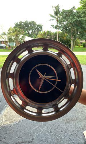 Mercedes hub cap clock for Sale in Tamarac, FL