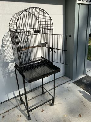 Large steel bird cage for Sale in Gainesville, FL