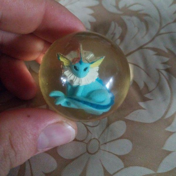 Vaporeon Bouncy Ball Battlers Pokemon