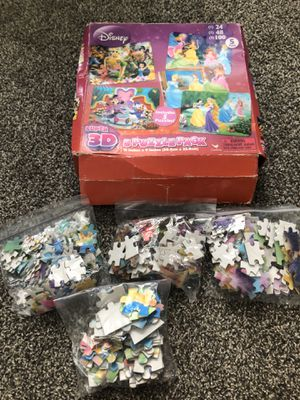 Girls puzzles & games for Sale in Rockwall, TX