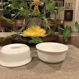 Corningware French White Stineware Bowls for Sale in Surprise, AZ