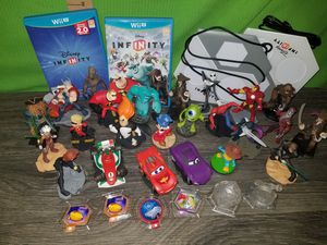 Nintendo wii u Disney infinity lot for Sale in Chesapeake, VA