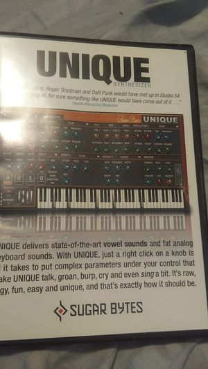Unique by sugar bytes its like having a PC synthesizer for Sale in Grove City, OH