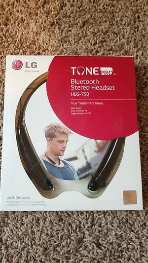 LG Tone Pro Bluetooth Stereo Headset for Sale in Bakersfield, CA