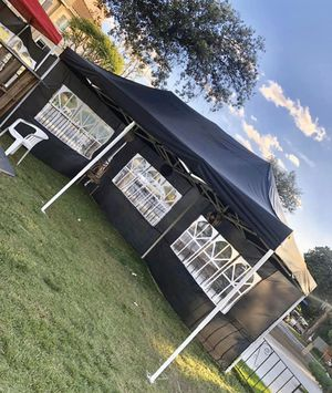 🎉🎉🎉10x20ft POP Up Canopy Tent Available in BLACK and BLUE🎉🎉🎉 for Sale in Pomona, CA