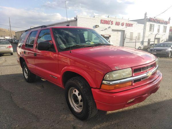 03 Chevy Blazer 4wheel Drive