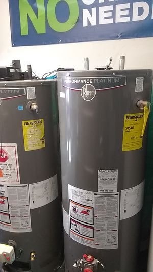 New Rheem Performance Platinum Water Heaters 🆕 50 gallons ‼️ for Sale in Tustin, CA