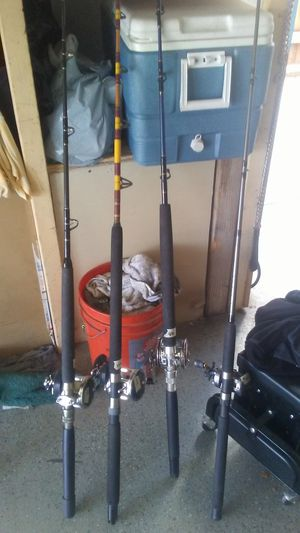Fishing rods for Sale in Wildomar, CA