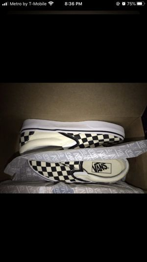 Checkered vans for Sale in Stockton, CA