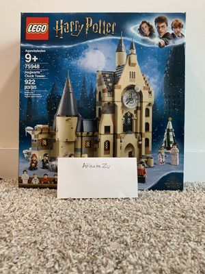 LEGO Harry Potter and The Goblet of Fire Hogwarts Clock Tower Castle Playset with Minifigures for Sale in Atlanta, GA