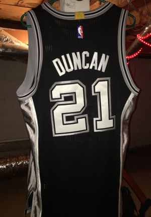 San Antonio Spurs' Tim Duncan Jersey. Authentic adidas jerseys for their 5th nba finals appearance for Sale in Delta, CO