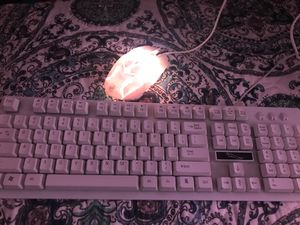 Rainbow lighted keyboard and mouse (NOT WIRELESS) for Sale in Watsonville, CA