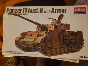 Panzer IV Ausf. H. With Armor. Academy for Sale for sale  Chula Vista, CA
