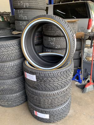 305/35/24 vogue tyres for Sale in Dallas, TX