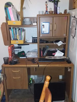 Sturdy desk and computer chair for Sale in Sullivan, MO