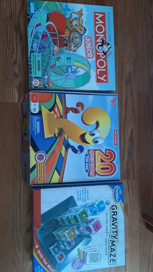 Set of 3 Board Games for Sale in Sterling, VA