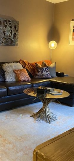 Leather Sleeper Sectional for Sale in Moonachie,  NJ