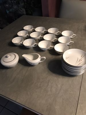 Vintage 12 Coffee Cups/Saucers Fine China for Sale in Addison, IL