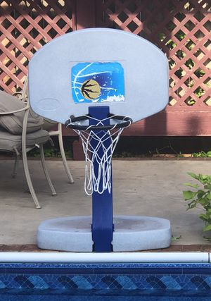 Pool basketball hoop for Sale in Oklahoma City, OK