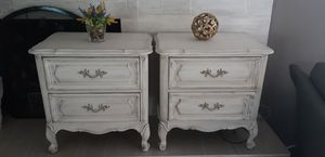 French provincial 2 nightstands for Sale in Pinellas Park, FL
