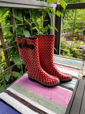 Cute rain boots for Sale in Portland, OR