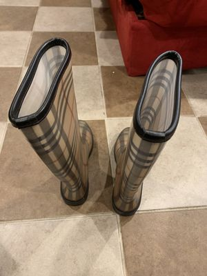 Burberry rain boots for Sale in New York, NY