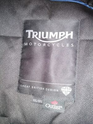 XPLORER TRIUMPH MOTORCYCLE JACKET XXL. for Sale in Norcross, GA