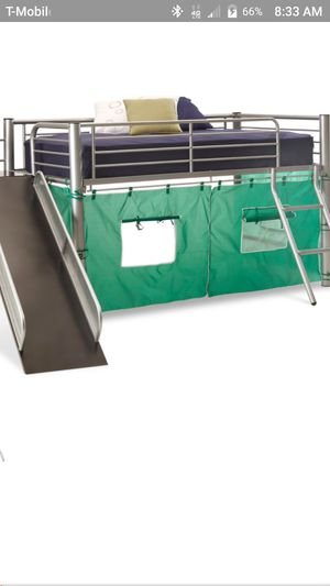Bunk bed with slide for Sale in Littleton, CO