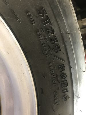 8 lug trailer wheels and tires for Sale in Parma, OH