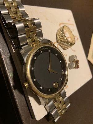 Diamond watch ring and earring combo $1200 for Sale in Antioch, CA