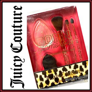 Juicy Couture 5-Piece Brush & Sponge Set Nwt for Sale in Fond du Lac, WI