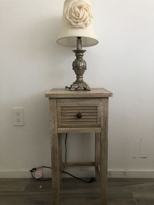 Two Modern End Tables for Bedroom for Sale in Miami, FL
