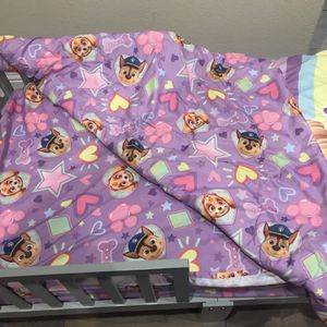 Toddler Bed And Bedding for Sale in Clovis, CA